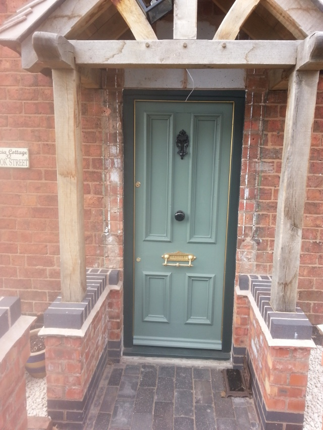 Superb Victorian Front Door Currently Available In The