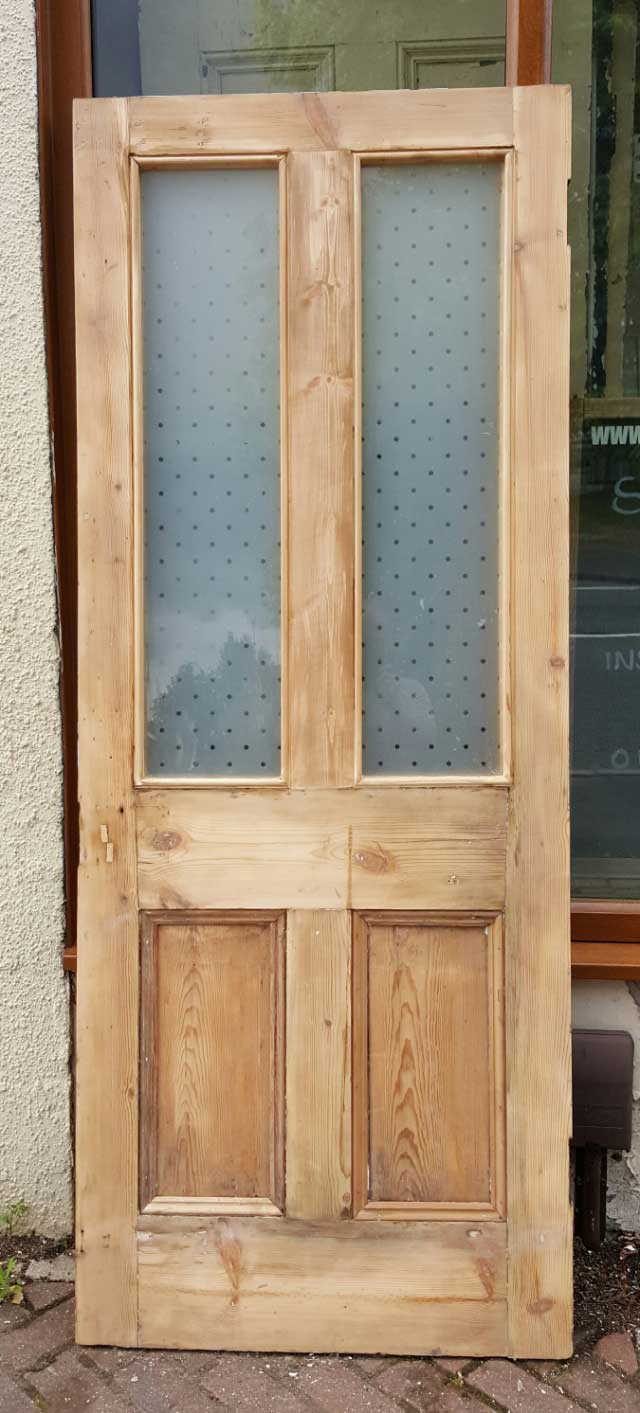 Superb Victorian door with star glass & Superb Victorian door with star glass currently available in the ...