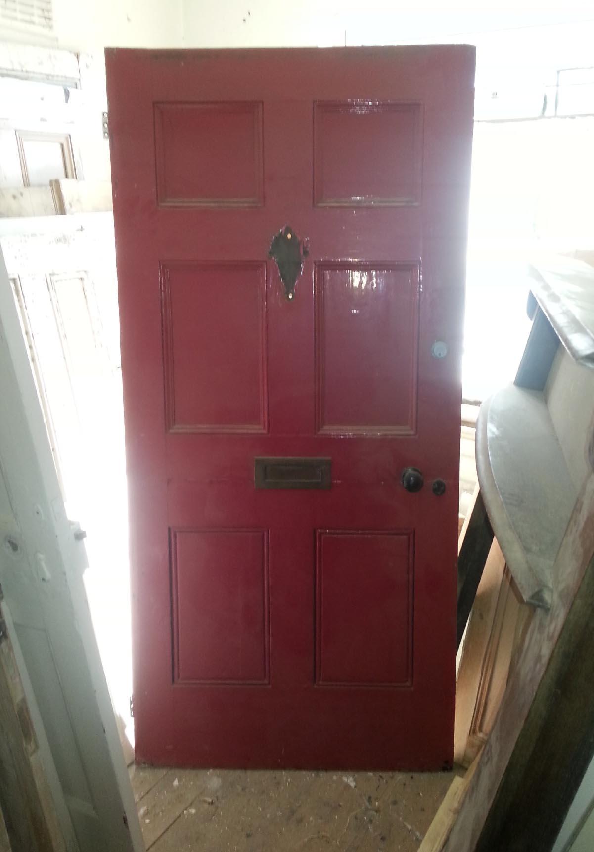 antique door restoration