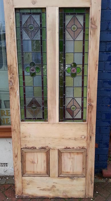 Stained glass doors currently available in the regency antiques regency antiques item half glazed roundal planetlyrics Images