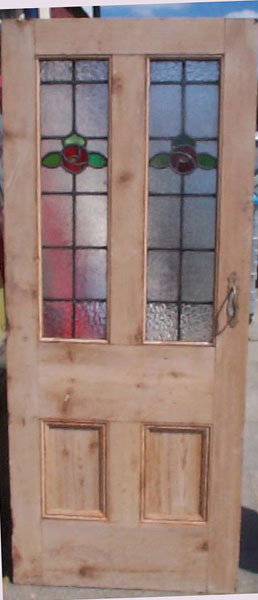 Regency antiques reclaimed and restored victorian doors for Wooden back doors with glass