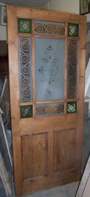9 Panel Vestibule Currently Available In The Regency Antiques