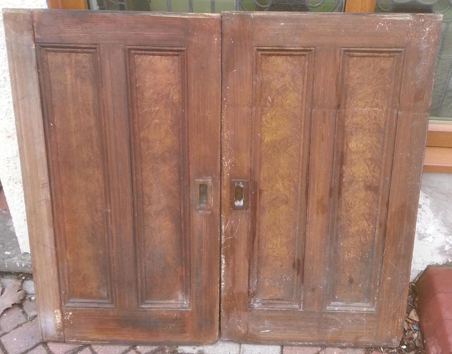 Exceptionnel Antique Cupboard Doors